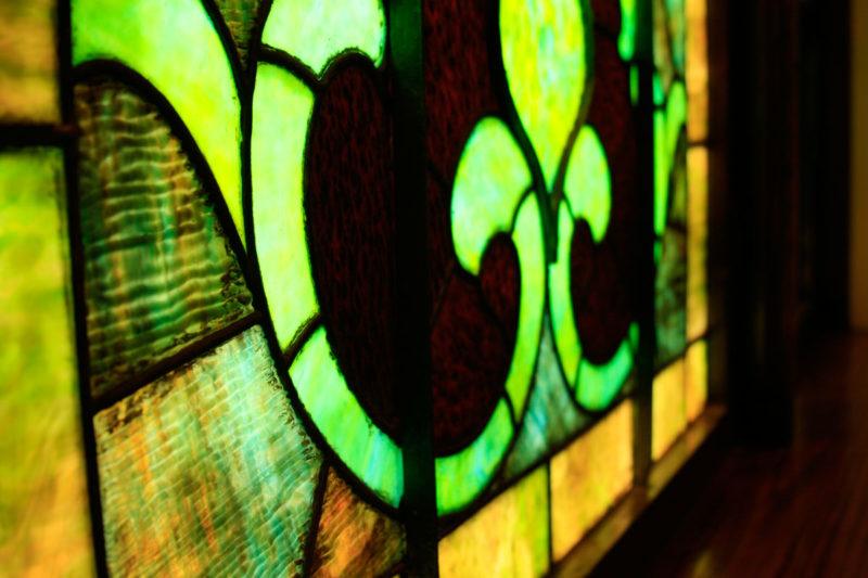 Stained Glass Window First Presbyterian Church Marengo, Iowa